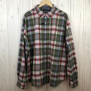 Nautica Classic Fit Long Sleeve Button Up